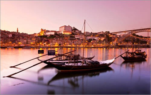 impression-sur-bois-80-x-50-cm-sunset-douro-river-oporto-de-getty-images