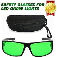 Derlights Indoor Grow Light Glasses, anti - UV, de changer de couleur, des lunettes for intense la del éclairage visuel in Grow ROOM & Greenhouse