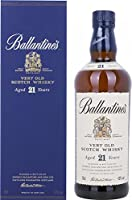 Ballantine's 21 Years Old Very Old Scotch Whisky with Gift Box (70 L) by Ballantine's