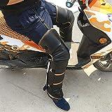 gzlstar Protettori da moto per ginocchia Ginocchiere assicurabili con doppia striscia Flash