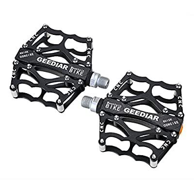 Shiney Bicycle Bike Pedal,CNC Aluminum Alloy Road Mountain Bike Bearing Pedals with Super Light Stable Plat from SHINEY