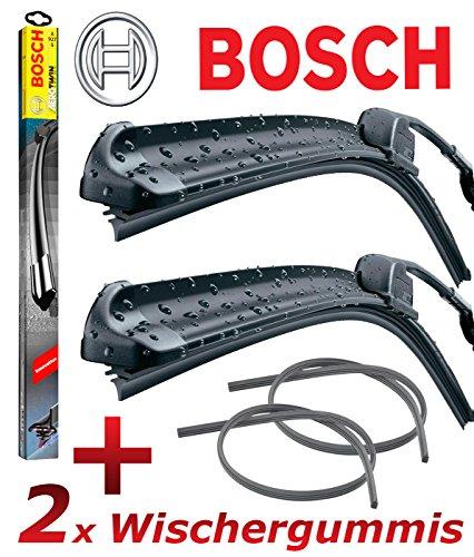 Preisvergleich Produktbild BOSCH AEROTWIN A557S 3397007557 Scheibenwischer 700 / 400 + 2x GELAN Ersatz Wischergummis - SET [ VORTEILSPAKET ]
