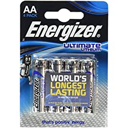 Energizer 24 Ultimate Lithium l91 Mignon AA 1,5 v 3000 mAh + gratuites sous Blister