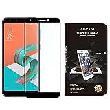 XEPTIO ASUS Zenfone 5 Lite 4G : Protection d'écran en Verre trempé Full Cover Noir...