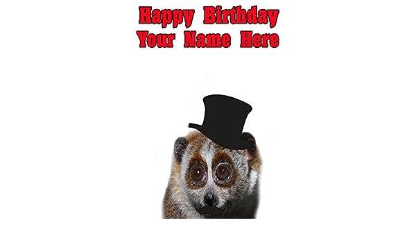 Plumplori Pps77 Squire Posh Paws Fun Cute Happy Birthday A5