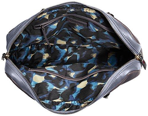 Cinque Fabiola mit Reißverschluss 11717 2822 C15 Damen Henkeltaschen 34x25x6 cm (B x H x T) Blau (dunkelblau 2822)