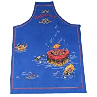 Tobeni ® 1708-002 Grill and Barbecue Apron in the kitchen Baumwolle