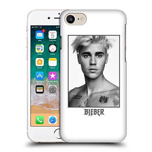 Head Case Designs Offizielle Justin Bieber Trauriges Gesicht Tour Merchandise Ruckseite Hülle für iPhone 7 / iPhone 8