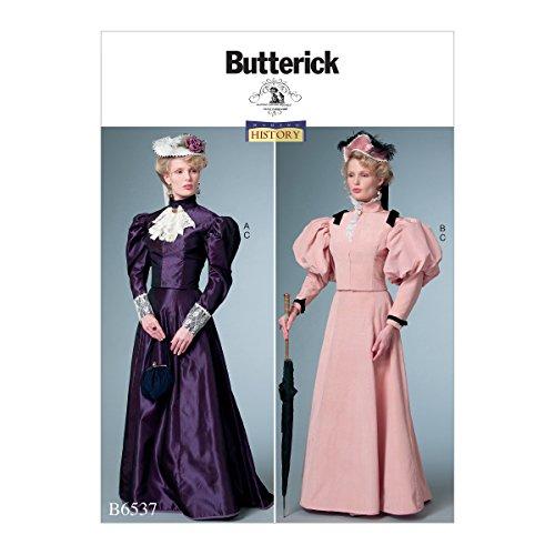 Butterick Patterns 6537A5Schnittmuster Kostüm Schnittmuster, Tissue, Mehrfarbig, 17x 0,5x 22cm (Butterick Patterns Kostüm)