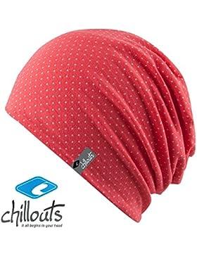 CHILLOUTS - Gorro - para niño multicolor Coral Pink Weiß 52/54