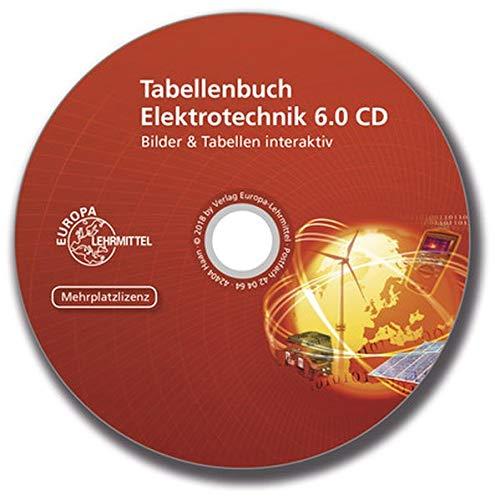 Tabellenbuch Elektrotechnik 6.0 CD Mehrplatzlizenz: Formeln & Tabellen interaktiv