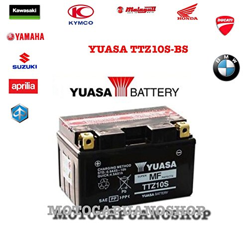 BATTERIA YUASA TTZ10S EX YTZ10S ORIGINALE MV YAMAHA YZF1000 R1 1000 ANNO apos04-apos11