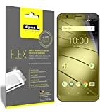 dipos I 3x Screen Protector for Gigaset GS185 - Covers