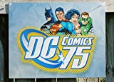Tin Sign : DC Comics 75th anniversary