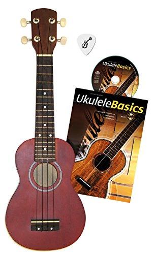 Voggenreiter 581 - Ukulelen-Set - Aktion mit Plektrum/Buch/CD