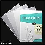 Transparent DIN A4 - 50 feuilles - pour imprimantes à jet d'encre - qualité premium - transparents pour rétroprojecteur...