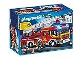 PLAYMOBIL City Action 5362 - Feuerwehrauto und Leiter, Mehrfarbig