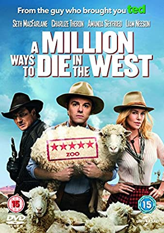 Million Ways To Die In The West [Edizione: Regno Unito] [Import anglais]