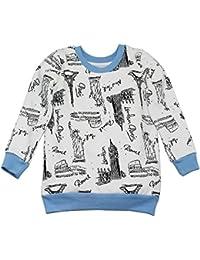 Kadambaby - 100% Cotton sweatshirt for baby Boy, Winter baby cloths, Baby Printed baby wear