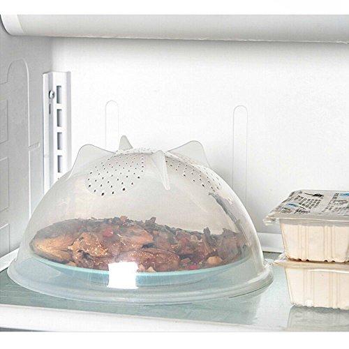 Lebensmittel, Mikrowellen-abdeckhaube Bpa Frei Für (GOOTRADES 1 Stk Mikrowelle Deckelplatte Abdeckung)