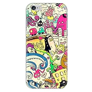 Mozine City Life printed mobile back cover for Apple Iphone 6s