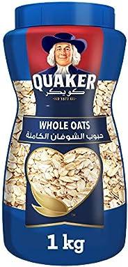 Quaker Whole Oats Jar, 1kg - Pack of 1