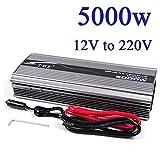INVERTER 5000W 12V 220V CON USB TRASFORMATORE PER CAMPER AUTO BARCA