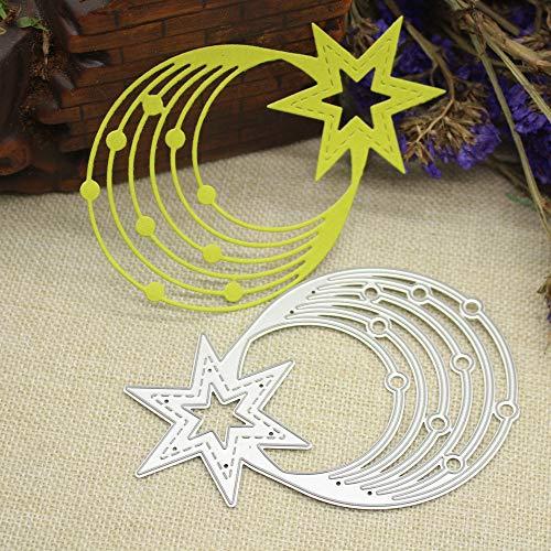 ng Schablone,Räumungsverkauf-3D Kohlenstoffstahl Stanzformen Schablonen Scrapbooking Prägekarten DIY Handwerk Halloween Tierform (H) ()