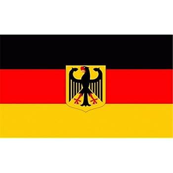 Flagge Fahne Deutschland mit Adler, ca. 30 x 45 cm
