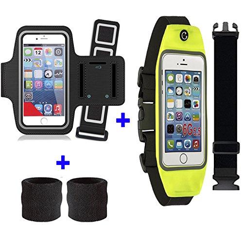 Telefon Armband + Laufband (mit zusätzlichen kostenlosen Extendern) für iPhone 6Plus/7Plus