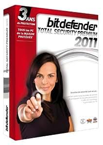 BitDefender Total Security Premium 2011 (3 ans - licence familiale)