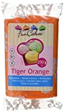 FunCakes Rolfondant -Tiger orange, 1er Pack (1 x 250 g)