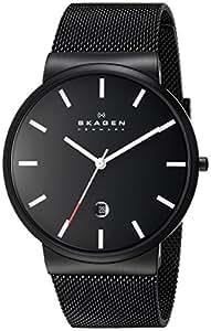 Skagen End-of-Season Analog Black Dial Men's Watch - SKW6053