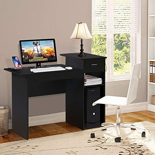 Yaheetech Scrivania Computer con Cassetto Moderna Design da ...