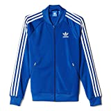 adidas Damen Trainingsjacke Supergirl Originals, Eqt Blue S16, 40, AJ8428