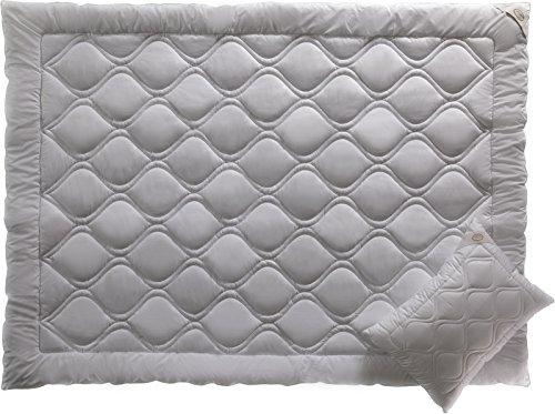 ALOE VERA THERAPY- Luxus Bettdecken- Hypoallergen- Kühles Schlafen- Luxus Bettwäsche von White Boutique-195/215 cm- 2 Stück