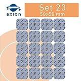 20 Elettrodi i tech dispositivi BEURER SANITAS - Pads TENS EMS 45X45mm - Attacco universale a bottone da 3.5mm - qualità axion