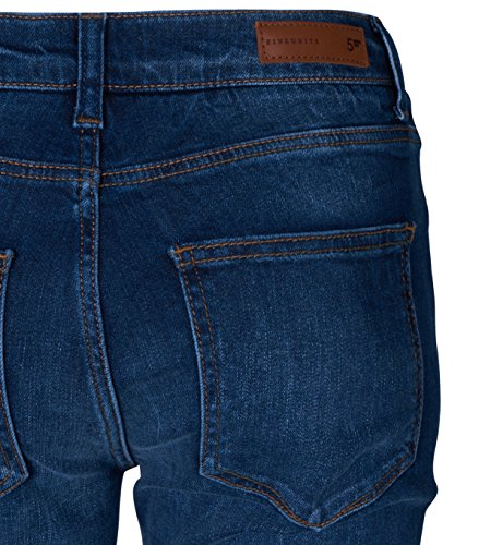 5 UNITS Damen Slim Fit Jeans Penelope in Blau adora