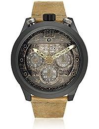 Timecode Reloj de cuarzo Man Moon 1969 Beige 46 mm