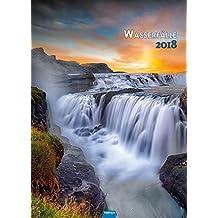 Großbildkalender Wasserfälle 2018