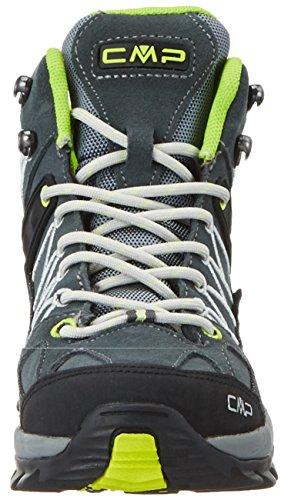 C.P.M. Rigel, Chaussures de Randonnée Hautes Femme Gris (Grey-ice-acido)