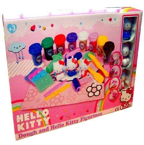 Hello Kitty Knete Figur Topf Formen Werkzeuge gesetzt Kinder Spielzeug Spiele im Kasten 894944 Hello Kitty Figuren