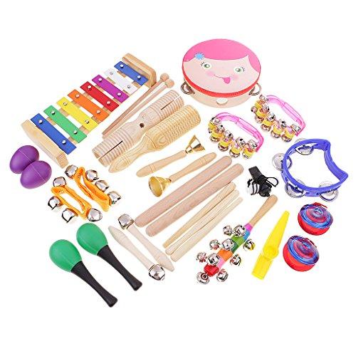 MagiDeal Schlaginstrumente Glockenspiel-Set, Kinder Musik Pädagogisches Spielzeug - # 2