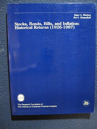 Stocks, Bonds, Bills and Inflation: Jistorical Returns (1926-1987)