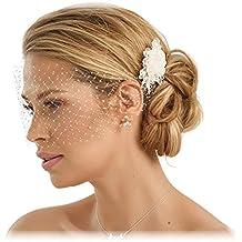 Suchergebnis Auf Amazonde Für Haarschmuck Braut Creme