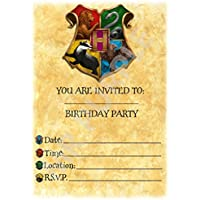Harry Potter Birthday Party Invites