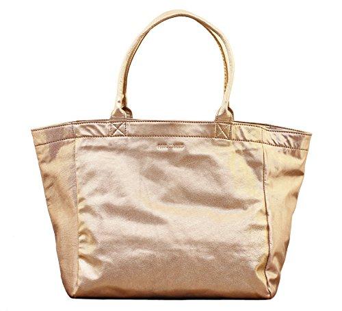 MON PARTENAIRE M Doré cabas en cuir sac à main style vintage PAUL MARIUS
