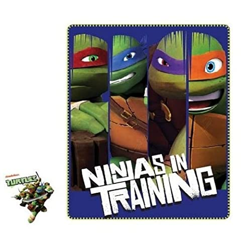 Ninja Tortue Robes - Disney - Tortues Ninja Couverture Plaid 120X140