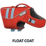 Ruffwear Schwimmweste für Hunde, Mittelgroße Hunderassen, Größenverstellbar, Größe: M, Rot, Float Coat, 45102-601M