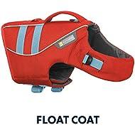 RUFFWEAR Life Jacket for Dogs, Medium Sized Breeds, Adjustable Fit, Size: Medium, Sockeye Red, Float Coat, 45102-601M
